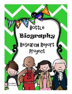 Bottle Biography Research Project Rubrics For Projects, Reading Projects, Research Projects, Women's History, Black History, Bottle Buddy, Student Information Sheet, Biography Project, Accountable Talk