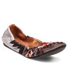 Lucky Brand Shoes, Emmie Flats [comfy and super cute in person!]