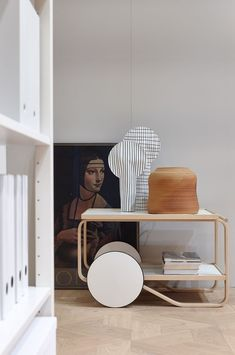 Asun at Habitare 2017 / Teatrolley 901 Interior Design Studio, Interior Styling, Living Room Designs, Living Spaces, Wood Interiors, Scandinavian Home, Living Room Inspiration, Beautiful Interiors, Marimekko