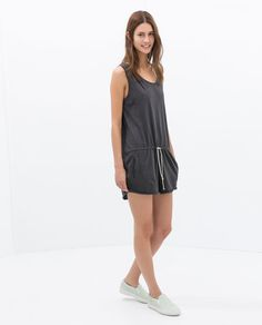 Image 1 of SOFT JUMPSUIT from Zara