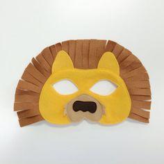 Löwen Maske & Schwanz-Kind