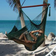 Caribbean Hammock Chair - Green