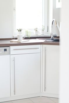 My white, scandinavian kitchen.