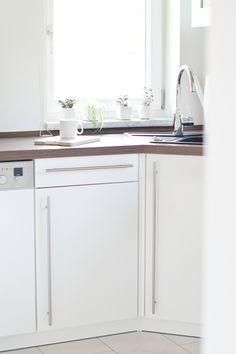 My white, scandinavian kitchen.