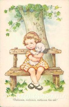 Maria-Pia-Child-Augurale-postcard-cartolina-KS5713