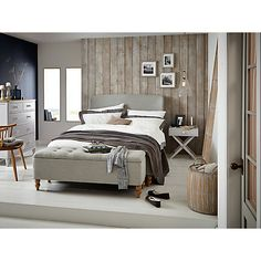 The Croft collection at John Lewis is a mixture of shabby chic and stylish themes to create your dream sleep sanctuary