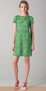 Cute simple green dress