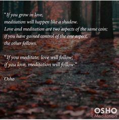 Meditation Love Osho