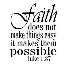 Faith Does Not Make Things Easy - High Quality Reusable Stencil on 10 Mil Mylar Bible Verses Quotes, Short Bible Quotes, Biblical Quotes, Favorite Bible Verses, Lds Quotes On Faith, Quotes About God, Bible Scriptures, Spiritual Quotes, Bible Teachings