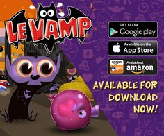Le Vamp now on GOOGLE PLAY and AMAZON!