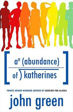 An Abundance of Katherines by John Green I read it the day after Christmas. My Favorite John Green book. Ya Books, Free Books, Good Books, Books To Read, Amazing Books, Music Books, An Abundance Of Katherines, John Green Books, Book Challenge