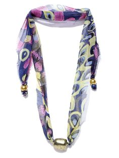 Buy Parfois Multicoloured Fabric Matinee Necklace -  - Accessories for Women from Parfois at Rs. 354