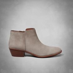 Womens Sam Edelman Petty Bootie. A cult classic that's loved by street-style icons and starlets, the Petty is a seasonless must-have that adds on-trend edge to skinny jeans and leather jackets. | Womens Our Favorite Brands | Abercrombie.com