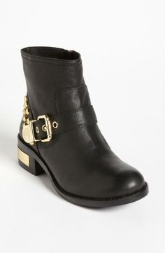 Black & Gold Boot