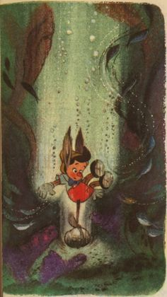 Pinocchio  Illustrated by Walt Disney Studio  Adapted by Dick Kelsey and Campbell Grant
