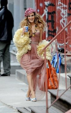 leçons de style par Carrie Bradshaw mode sex and the city sjp