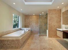 travertine bathroom ideas - Căutare Google
