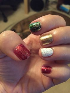 Christmas 2014 Zoya Ziv, OPI - Shattering the Scales, China Glaze - Luxe and Lush, OPI DS Indulgence, OPI - Pirouette my Whistle) 12/25/14