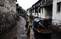 Zhouzhuang via Discover China.