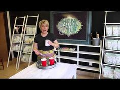 How To Paint Furniture: Getting An Ultra Smooth Finish with Chalk-Type Paints - Refunk My Junk