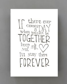 A3 Disney Winnie the Pooh movie quote poster If by SimpleSerene, $20.00