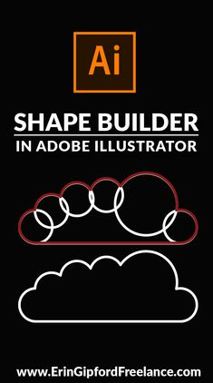 Learn how to combine multiple shapes into one single path using the Shape Builder Tool in Adobe Illustrator. #adobeillustrator #tutorial #shapebuilder