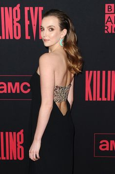 """Jodie Comer and Sandra Oh at the """"Killing Eve"""" Season 2 Los Angeles Premiere Jodie Comer und Sandra Oh bei der """"Killing Eve"""" Staffel 2 Los Angeles Premiere Sandra Oh, Jodie Comer, Sleek Hairstyles, Straight Guys, Clean Face, Celebs, Celebrities, Woman Crush, Powerful Women"""