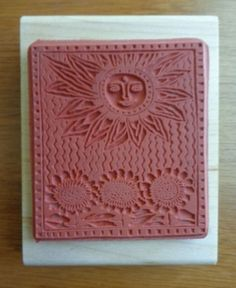 "New RARE Marsha McCarthy American Art Stamps Rubber Stamp ""Summer"" MM4027 H 