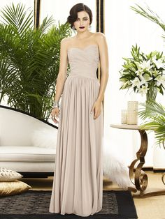 Shop Dessy Bridesmaid Dress - 2880 in Lux Chiffon at Weddington Way. Find the perfect made-to-order bridesmaid dresses for your bridal party in your favorite color, style and fabric at Weddington Way.