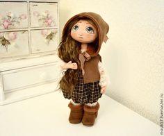 Купить Масичка - коричневый, кукла ручной работы, кукла в подарок, кукла, кукла интерьерная