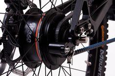 GRACE MX rearhub & belt drive details