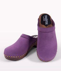clogs athens violet