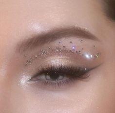 Makeup Eye Looks, Eye Makeup Art, Cute Makeup Looks, Glam Makeup, Pretty Makeup, Simple Makeup, Skin Makeup, Makeup Inspo, Eyeshadow Makeup