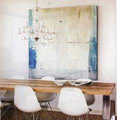 Turquoise Room Decor | There are two styles that I could go with...the Swedish / rustic ...