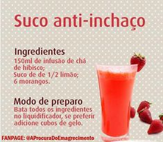 Saiba como fazer varios sucos detox para você tomar no dia a dia e emagrecer sem precisar ir a Nutri Detox Diet Drinks, Detox Juice Cleanse, Detox Juice Recipes, Natural Detox Drinks, Juice Diet, Detox Juices, Cleanse Recipes, Bebidas Detox, Different Fruits And Vegetables