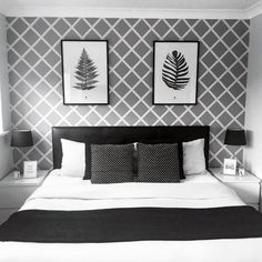 Cheap Home Decor Gray is the New Black. Get Inspired By These 100 Gray Bedroom Designs! Home Decor Gray is the New Black. Get Inspired By These 100 Gray Bedroom Designs! Black White And Grey Bedroom, Modern Grey Bedroom, Black Bedroom Decor, Grey Bedroom Design, Grey Interior Design, Room Ideas Bedroom, Minimalist Bedroom, Home Decor Bedroom, Grey Bedrooms