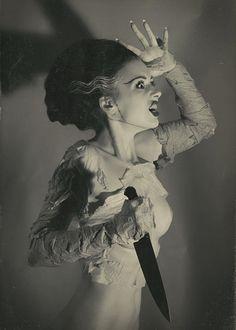 The Bride of Frankenstein. Elsa Lancaster