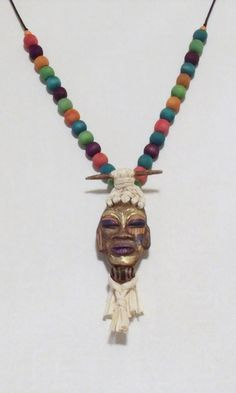 Multicolored Mask by 1View on Etsy