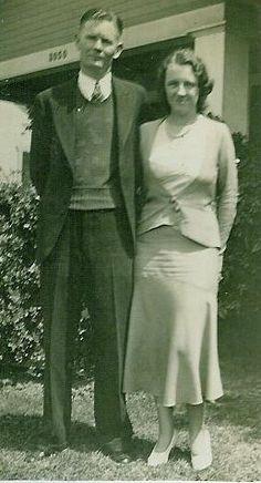 Hugh McKay and Beulah Fick, California, 1932