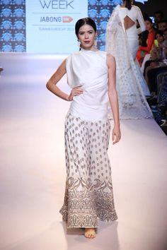 Surendri by Yogesh Chaudhary for Lakme Fashion week 2015.
