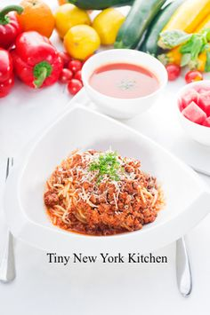 http://www.tinynewyorkkitchen.com/recipe-items/beef-pork-bolognese/