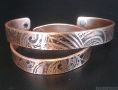 copper magnetic slave bracelets and link bands, stainless steel and scalar pendants, magnetics rings and much more healing products at great prices. Maori Designs, Slave Bracelet, Cuff Bracelets, Magnets, Copper, Pendants, Band, Rings, Jewelry