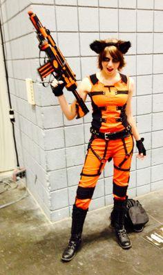 Rocket Raccoon cosplay NYCC 2014