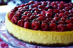 The eccentric Cook: New York Cheesecake with Raspberries