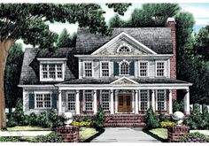 Home Plans and House Plans by Frank Betz Associates; Clarkston