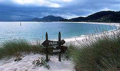 Praia de Rodas, Islas Cíes,Vigo ,,Cies Islands