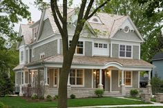 Show Roland! Is it grey is it green- love it! Metal roof? Love the copper color. I'm into this scheme.