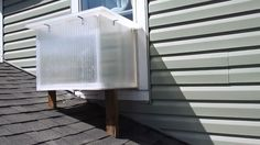 Watch Window Box Solar Heater build video