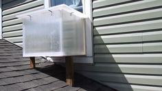 Watch Window Box Solar Heater build video