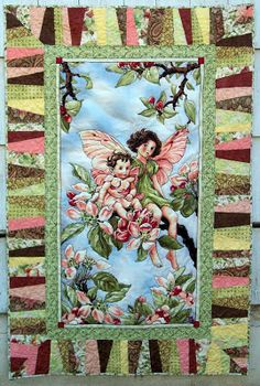 Pamelaquilts: Apple Blossom Fairy Quilt